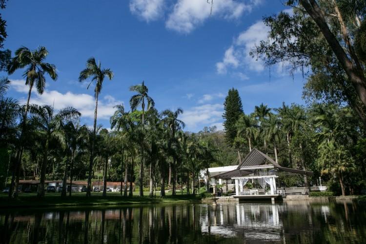 Casar-se em fazendas e sítios tem sido a opção de muitos noivos ; na imagem, a Fazenda 7 Lagoas