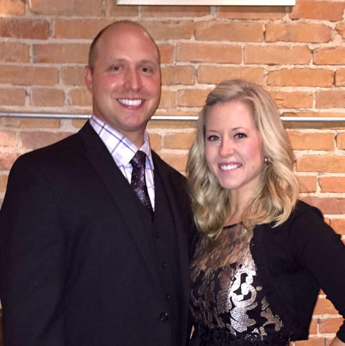 Kathy e Brandon Gunn (Reprodução/Facebook)