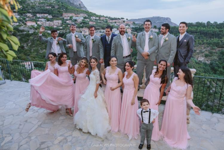 Muito romance neste casamento em Éze Village, na Riviera Francesa (Foto: Gabi Alves)