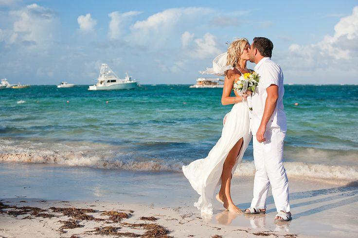 Novamente, o mar é um atrativo para quem escolhe casar em Punta Cana