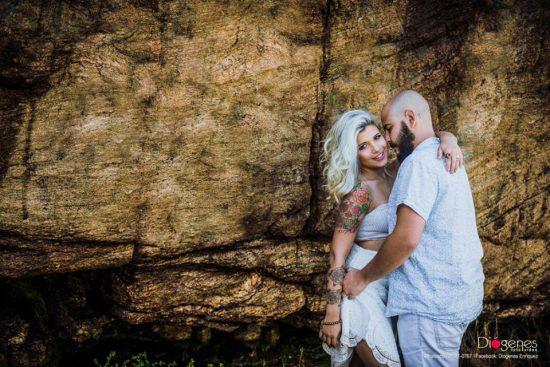 Danielle e Guilherme em ensaio fotográfico