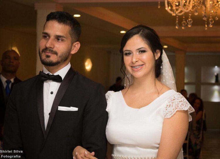 Noivos Jonata Lopes e Camila Pereira