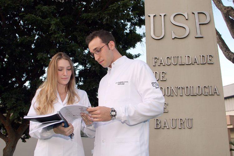Martha e Oscar na USP